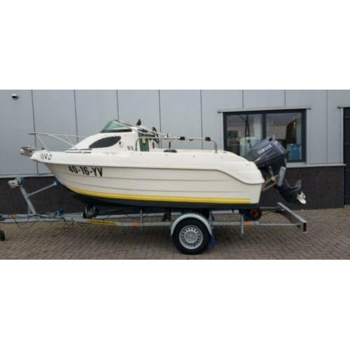 Quicksilver 420 Flamingo, Yamaha 25 Pk four stroke + trailer